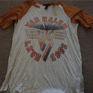 Van Halen baseball tee